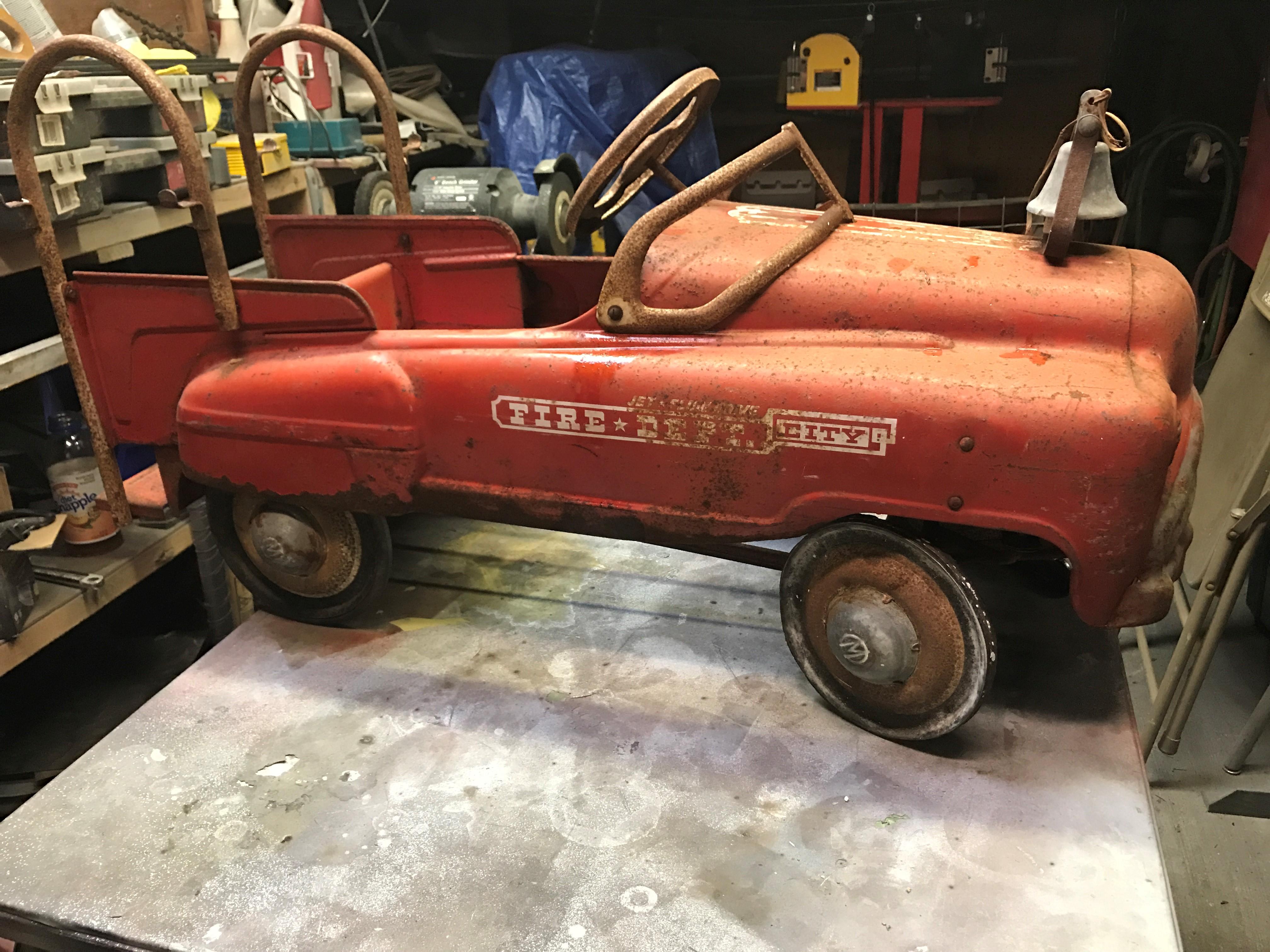 Pedal Car Restoration   C & N Reproductions Inc