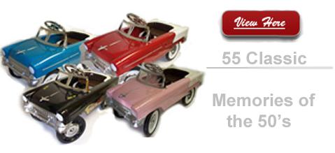 55 Classic Pedal Car
