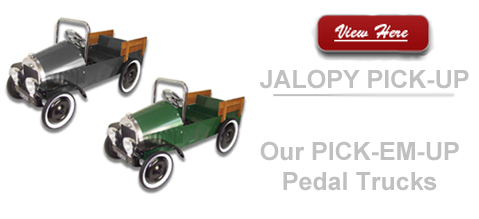 Jalopy Pick-up Truck